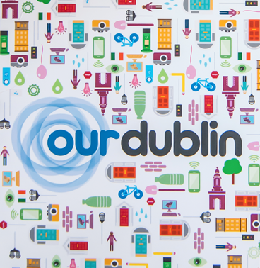 our dublin wallpaper graphic