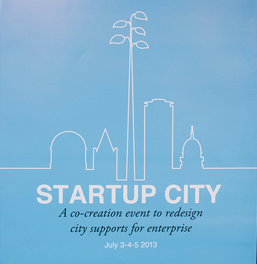 Start up City Charrette : A Co-Creation event to redesign city supports for enterprise in Dublin, Ireland