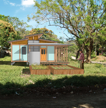 rendering of the Costa Rica house